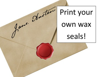 "Print-out ""Wax"" Seals"