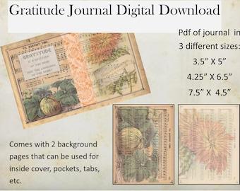 Thanksgiving Gratitude Journal