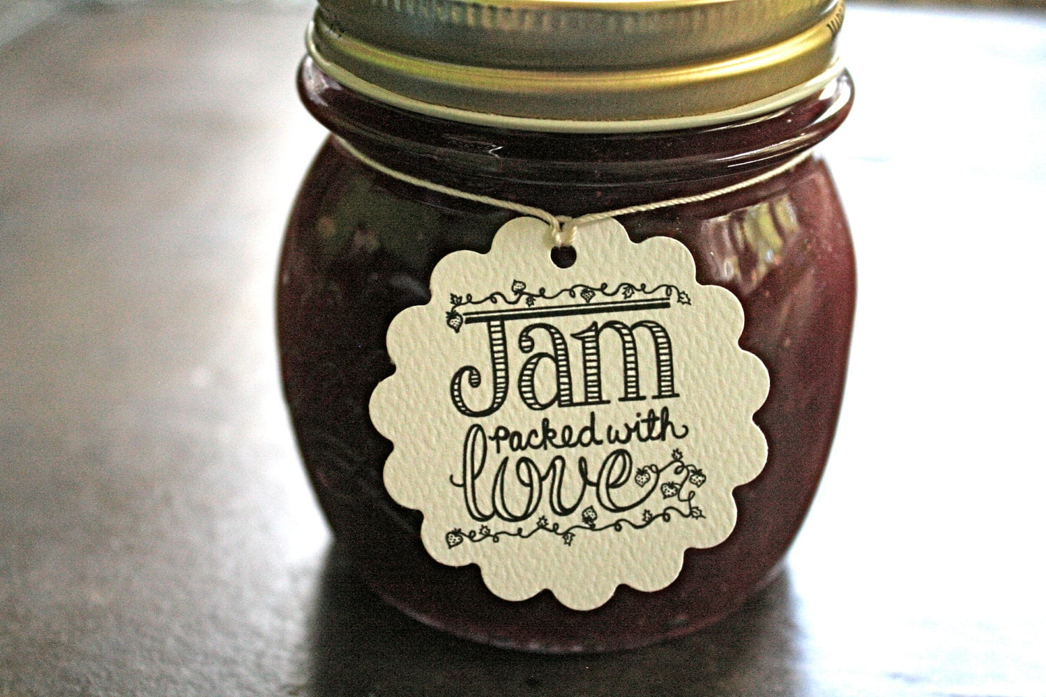 Personalized Wedding Favor Tags Canning Tags Set Of 20 Jam Etsy