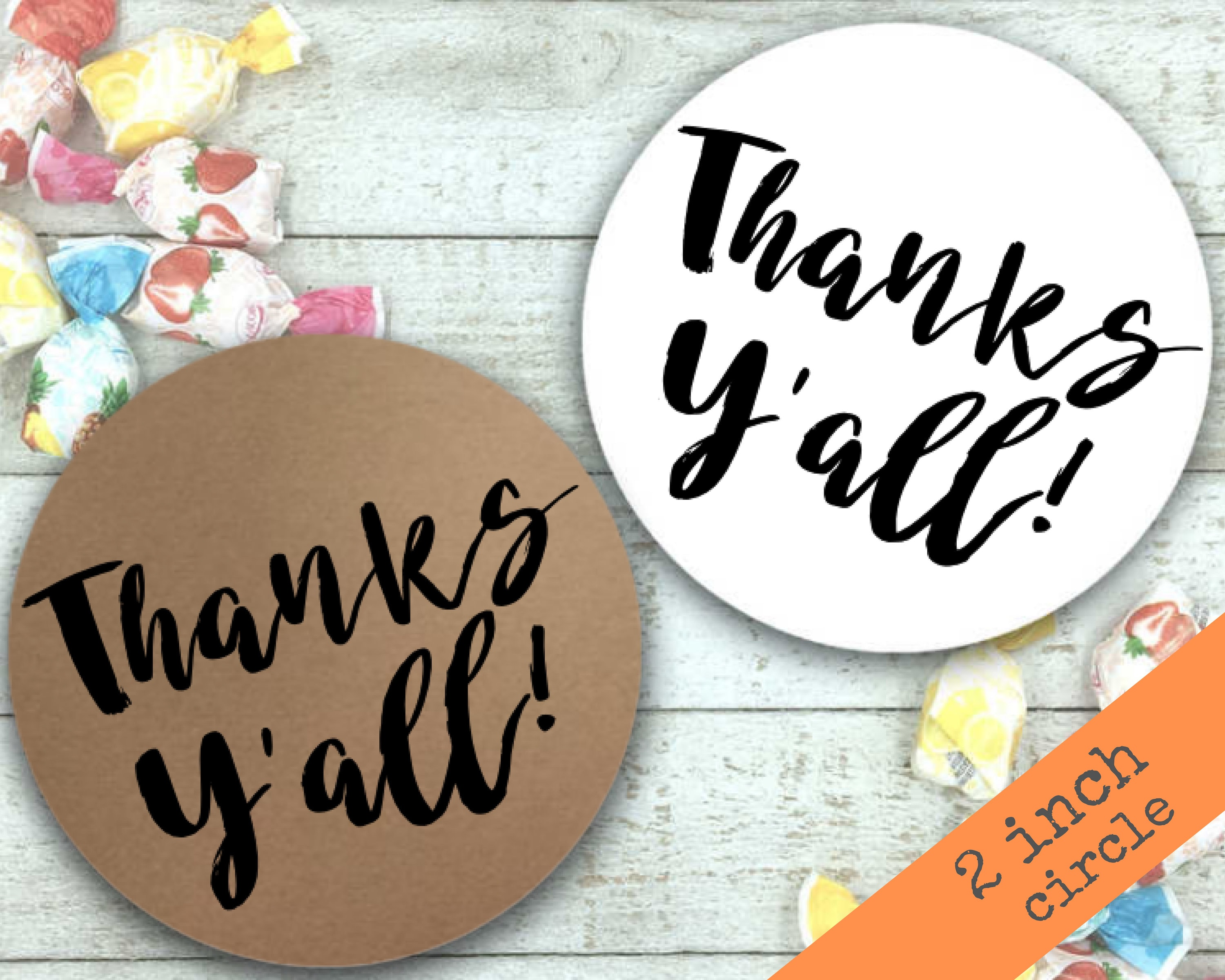 20 Or 30 1 5 Or 2 Thank You Stickers Labels Wedding Shower Envelope Seals Greeting Cards Invitations Home Garden
