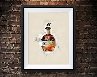 Bourbon Wall Art Etsy