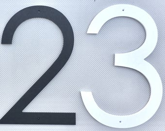 16 inch Modern House Numbers Letters