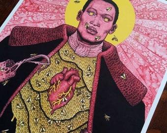 Say My Name - Saint Candyman - Tony Todd - Fine Art Print