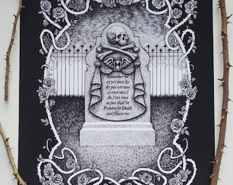 Remember Me - Memento Mori - Fine Art Print