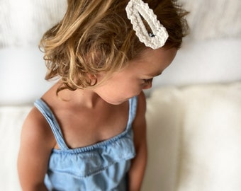 MAGNOLIA hair clip   pack of 2