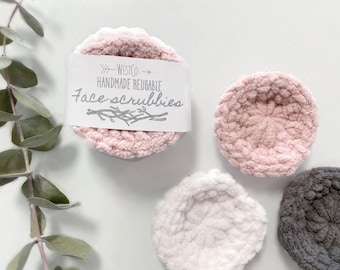 Reusable Face Scrubbies   pack of 3
