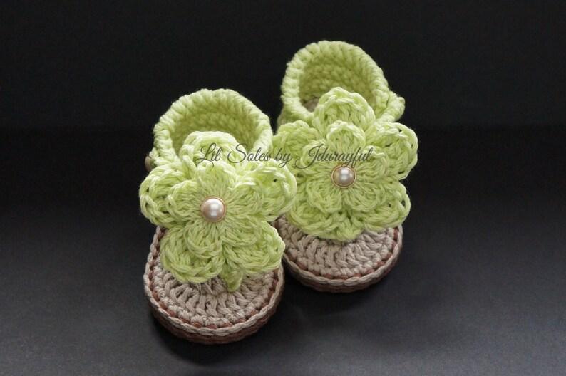 cf3566ccf7d7c Baby Girl Sandals, Baby Girl Flip Flops, Crochet Baby Sandals, Baby Girl  Gift, Crochet Baby Shoes, Baby Girl Shoes, 0-3 Months, Baby Shoes