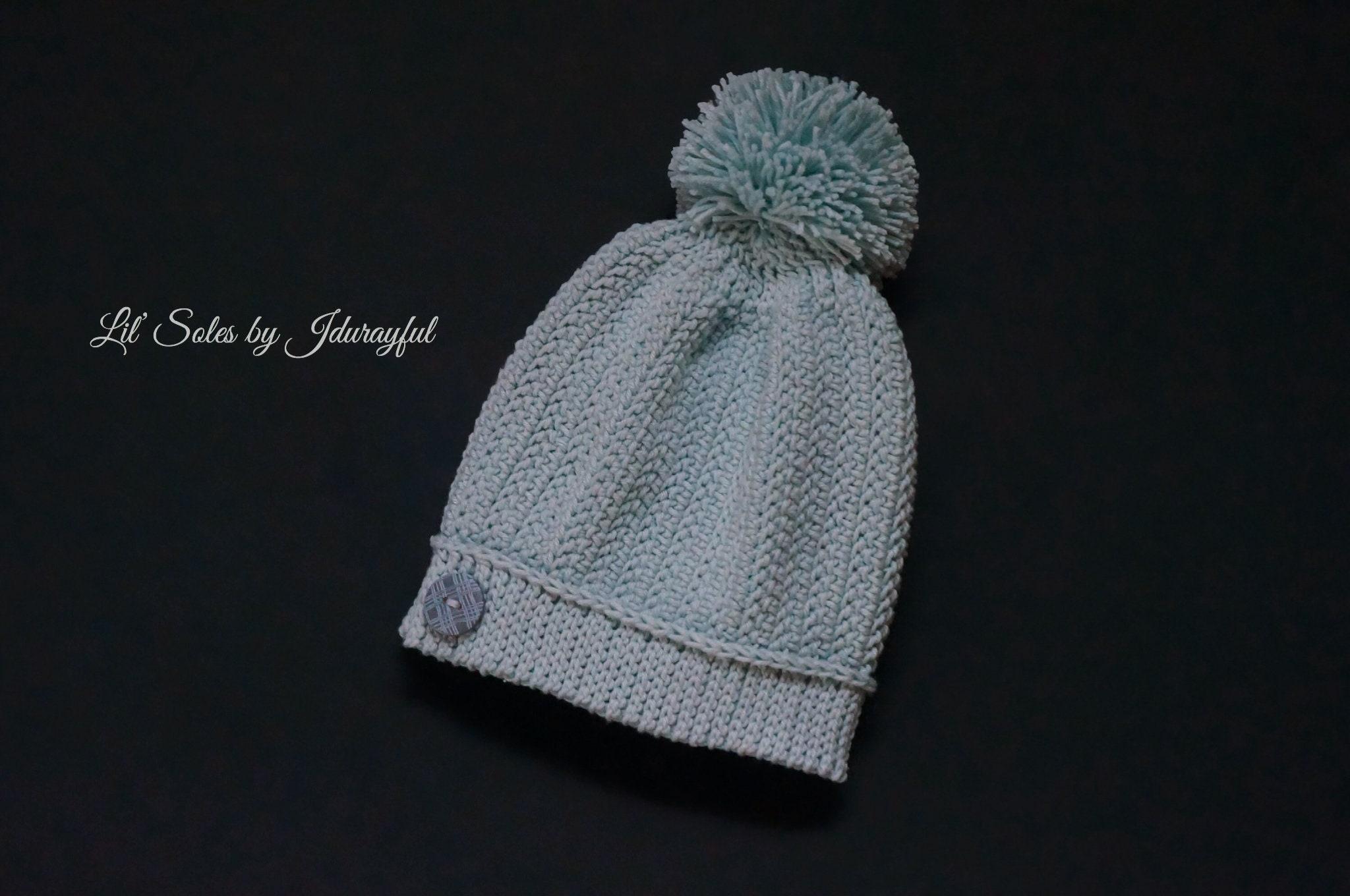 Crochet Baby Hat Baby Boy Hat Baby Boy Gift Light Blue Baby  f6d7c172409