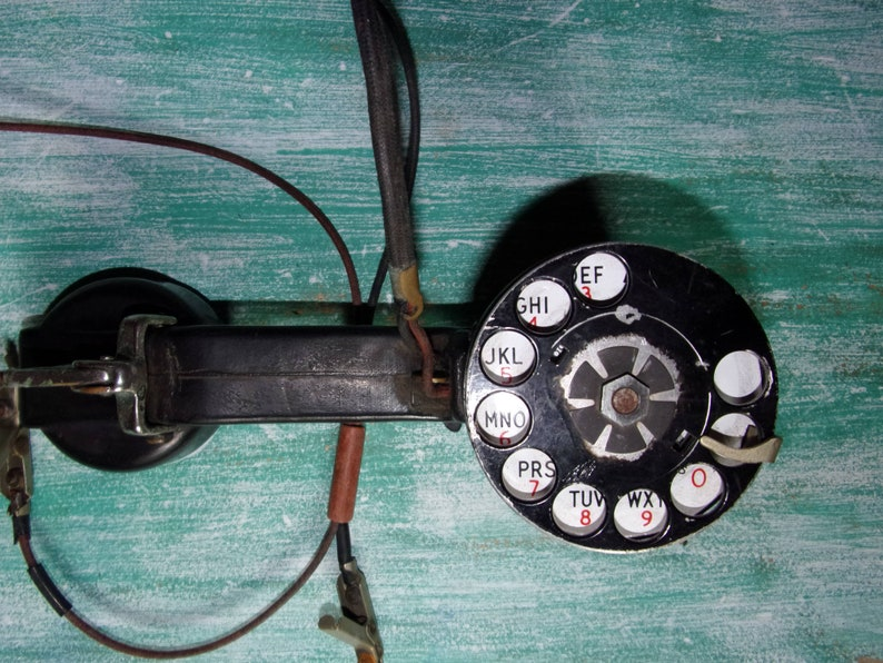 Pleasant Vintage Linemans Phone Retro Telephone Bell System Telephone Etsy Wiring 101 Capemaxxcnl