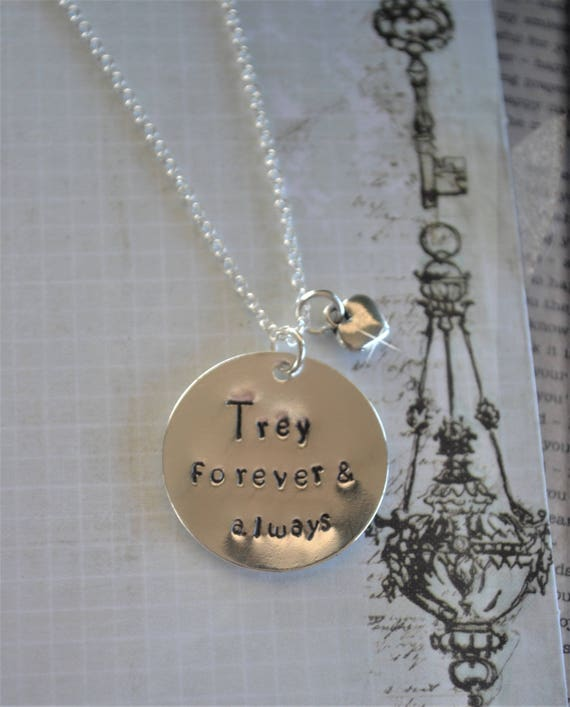 Add on Charm by Miss Ashley Jewelry 1 Rectangle Tag Hand Stamped Charm