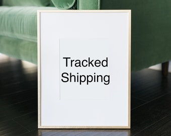 Tracked shipping add on - tracked shipping