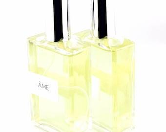 Natural Âme Botanical Perfume - Natual Eau de parfum - Gift for her - Floral Perfume Victoria, BC Vancouver Island Canada
