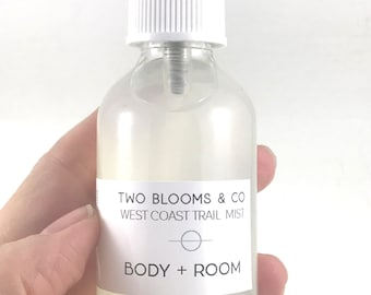 Aromatherapy Spray - West Coast Trail Spray, Natural Spray, Room Mist, Deodorizer, Body Mist Victoria Vancouver Island BC Canada