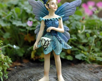 Buy 3 Save $5 Miniature Fairy Garden Nia Fairy Pick w// Glow-in-the-Dark Orb