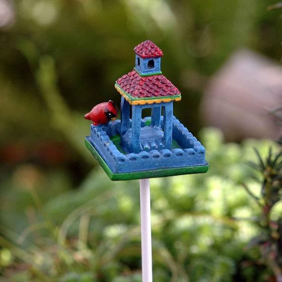 Mary Engelbreit Fairy Gardens Dollhouse Miniature Mini Top Hat Snowman