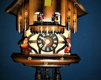 Vintage Classic SCHMECKENBECHER Musical Cuckoo clock #60