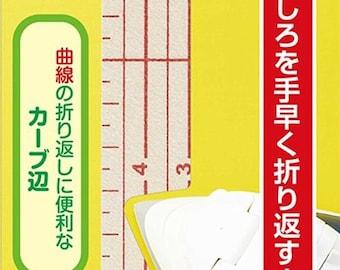 Clover Hot Hemmer Ruler Wide - Easy and Useful Tool