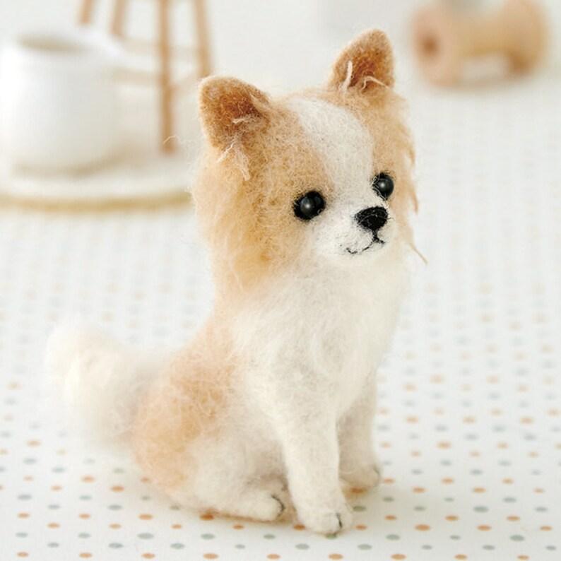 Crafts Needlecrafts & Yarn Punctual Hamanaka H441-266 Felt Wool Mascot Shiba Dog Kit Japan New.