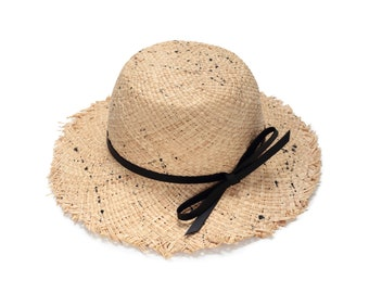167af4df Womens straw hat, Natural straw hats , Straw hat for women , Women summer  hats , Wide brim straw hat , Sun hat , Beach hat, Boho chic hat