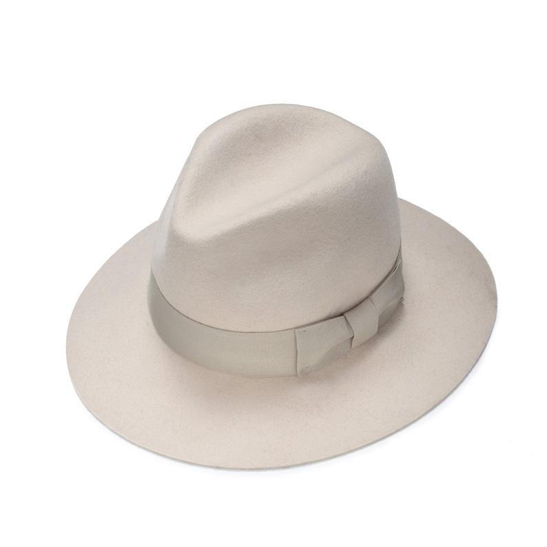 9e420cc0e Marfil clásico sombrero fieltro del sombrero las mujeres | Etsy
