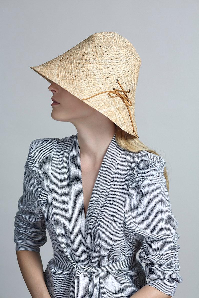 Straw hat Bucket hat Straw Bucket Hat Sun hat Women summer hats Straw hat for women Beach hat Womens Straw Bucket Hats