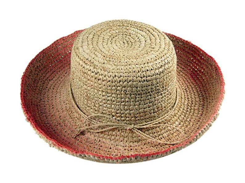 43acc92c Summer hats women Wide brim ladies raffia summer straw hat   Etsy