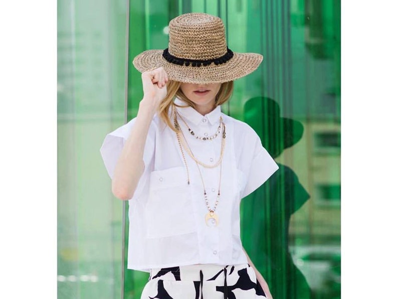 2a768d43ab5 Straw Raffia hat for women Women summer hats Straw hat