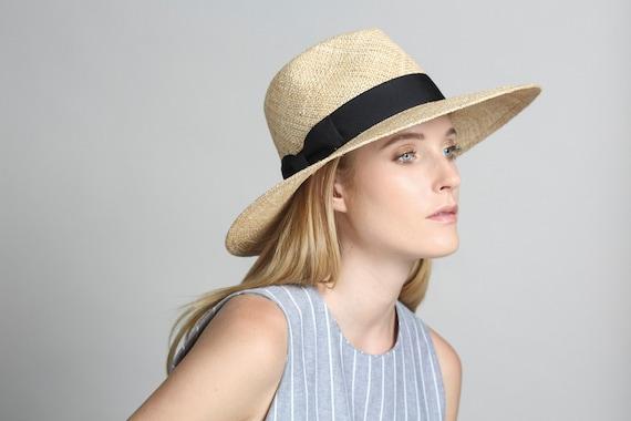 Wide Brimmed Hat Wide Brim Straw Hat Fedora Hat Womens  02db37eb87ca