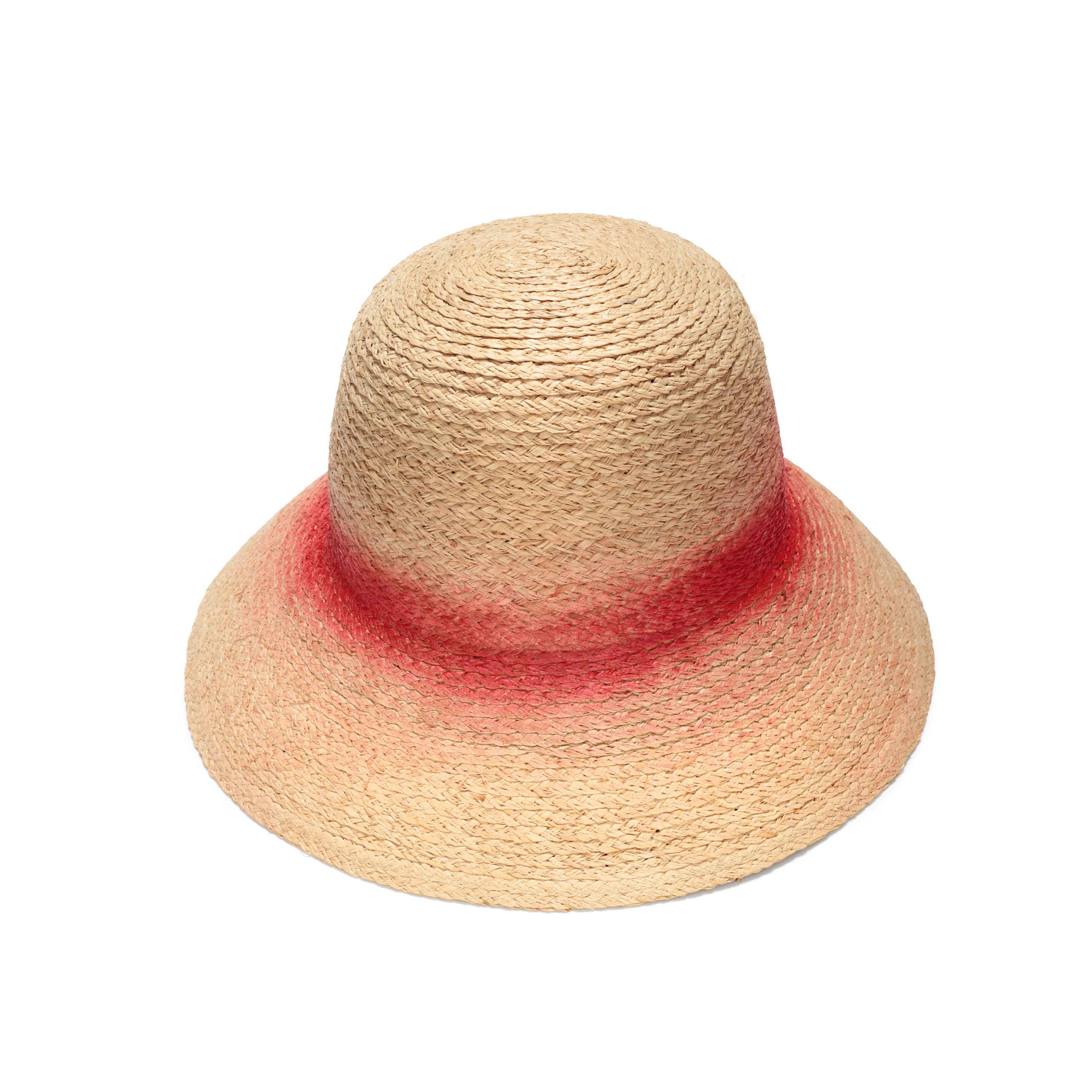 a9d5ed19a54a9 Straw cloche hat for women Classic cloche hat Summer cloche