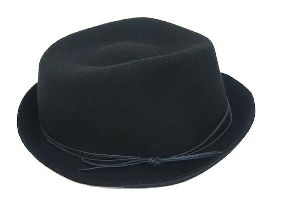 Floppy Fedora Hat   Black Fedora   Womens Hat   Mens Fedora  2f2e9a21756