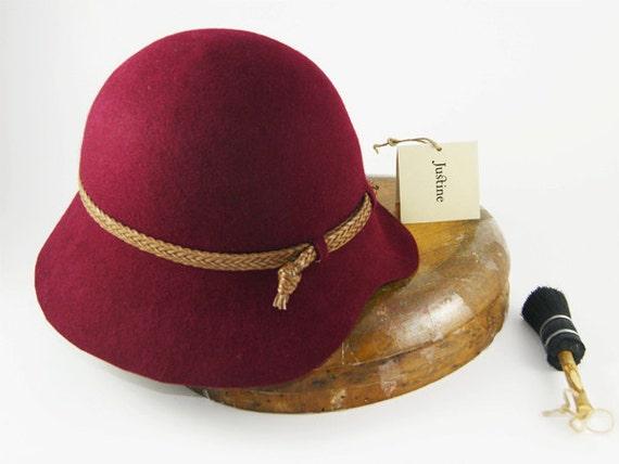 HAT ON SALE Womens Cloche Hat Felt Hat For women Womens  a9529d5c813