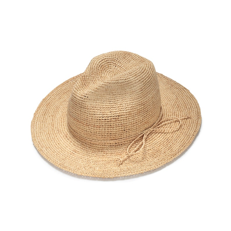 Wide Brim Fedora Straw Hat Mens Straw Fedora Hat Straw Etsy