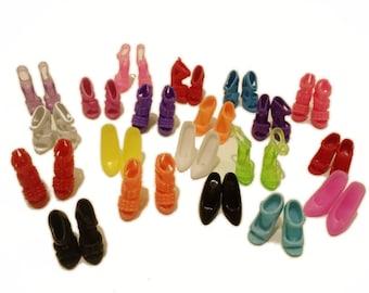 10 pairs of Barbie Shoes-Mix lot Set #1