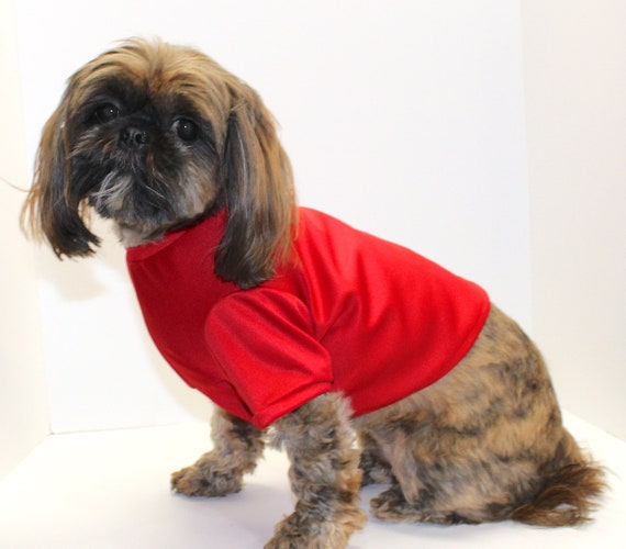 Dog Shirt, SUPER CUTE Pull Over Spandex Blend Stretch Comfort