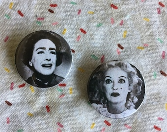 """The Hudson Sisters 1"""" Button Set"""