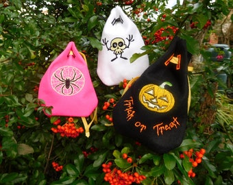 Halloween Trick or Treat Gift Bags Pouches