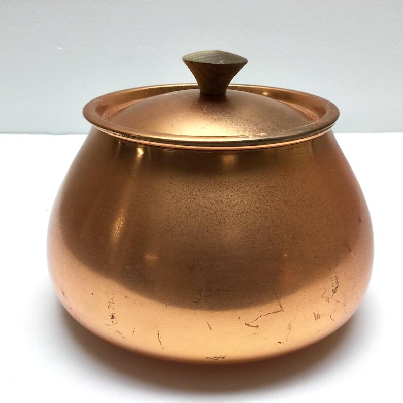 Retro Tagus Mod 60/'s Saucepan Copper Fondue Pot