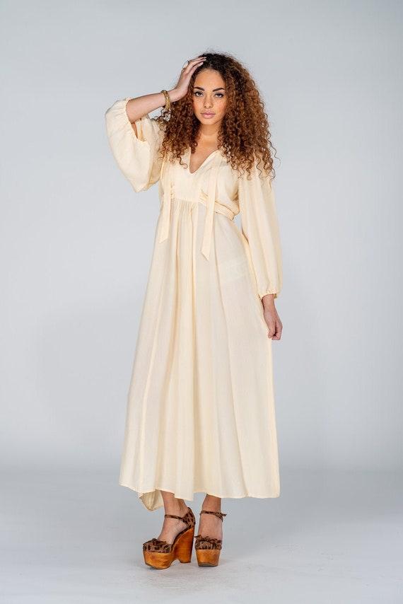 Vintage Ossie Clark Maxi Dress