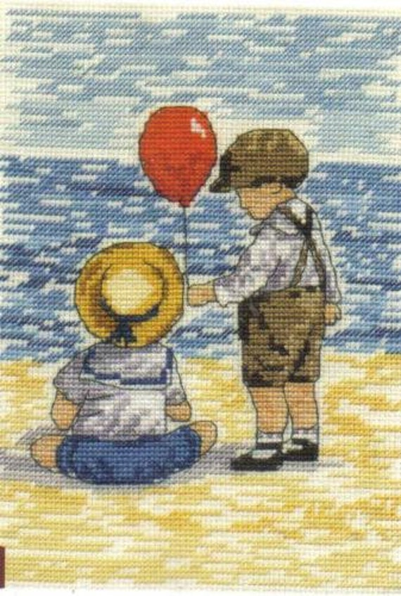 My Last Red Balloon Limited Edition All Our Yesterdays Counted Cross Stitch Kit