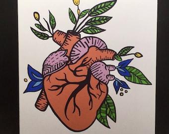 Anatomy note cards | Etsy