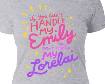 Gilmore Girls Fan T-Shirt - Emily & Lorelai Gilmore - Ladies' Boyfriend T-Shirt