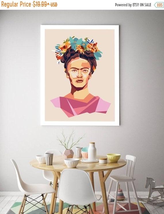 ON SALE Frida Kahlo Poster Frida Kahlo Print Kahlo Wall | Etsy