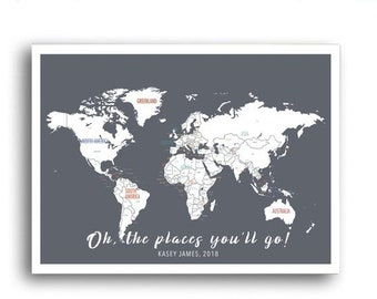 Sale 20 off personalized world map adventure map travel sale 20 off personalized world map adventure map travel map travel poster world travel wall art personalized travel map custom gumiabroncs Image collections