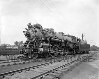 Vintage Photo Southern Railroad Crescent Locomotive Train Old Photo Reprint