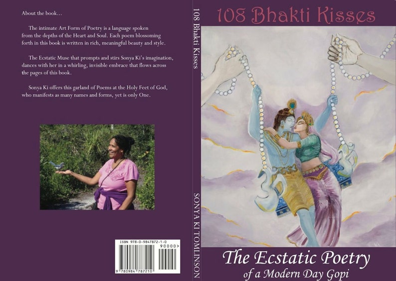 Sathya Sai Baba. 108 Bhakti Kisses Ecstatic Poetry. image 0