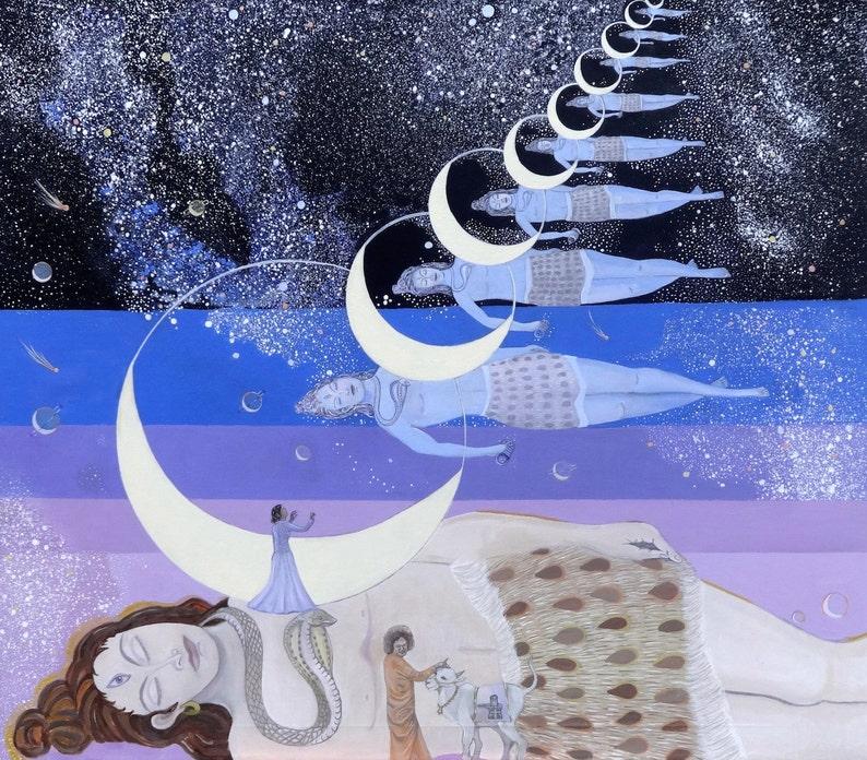 GICLEE CANVAS PRINT Kalatitaya  He who is beyond time Canvas image 0
