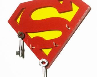 Superman Key/Jewelry Hanger (IN STOCK)