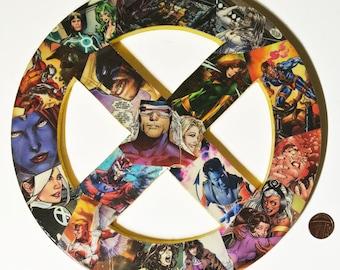 X Men Themed Decor - Superhero Wall Art - Marvel Themed Baby Shower Gift - Comic Book Nerd Fan Art - Marvel Room Decor