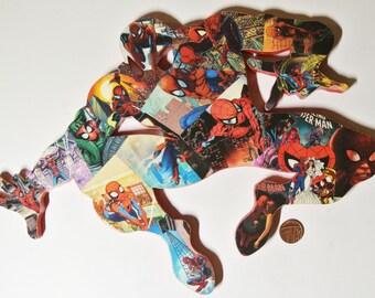 Spider-Man Bedroom Decor - Superhero Wall Art - Marvel Themed Baby Shower Gift - Comic Book Nerd Fan Art - Marvel Room Decor