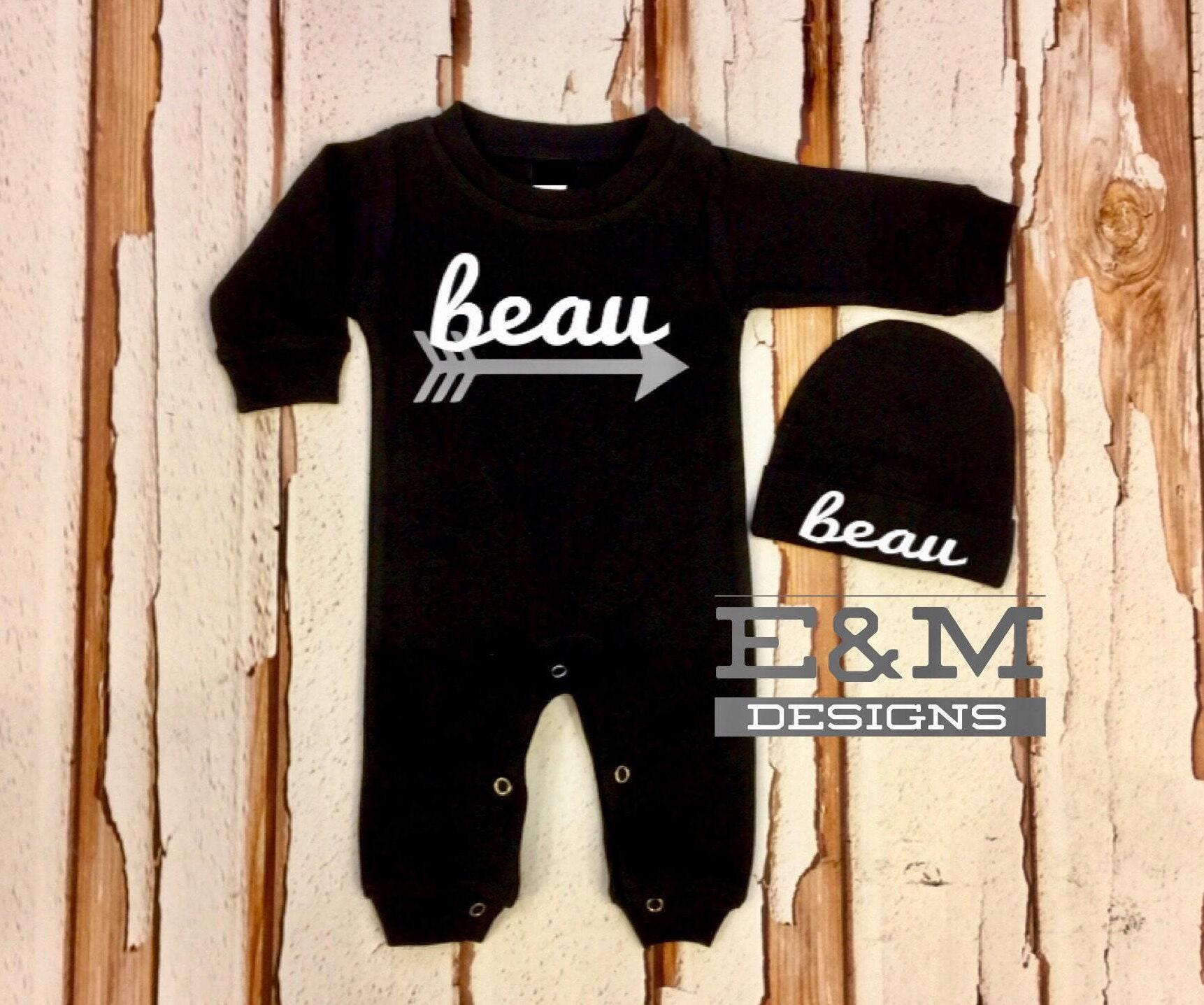 0bb4ba5f6 Baby Boy Coming Home Outfit Newborn 0 3 Boy Romper